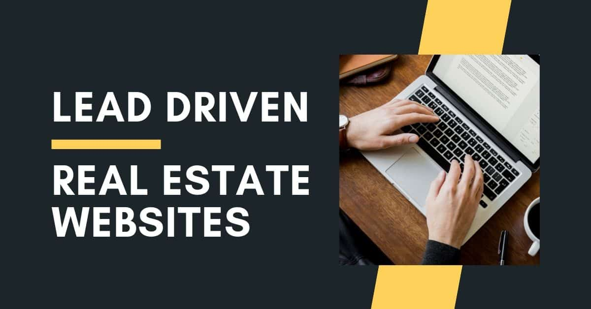 lead driven real estate websites